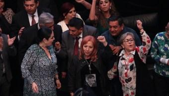 """FOTO """"Muy satisfecho"""", dice AMLO sobre nombramiento de Rosario Piedra en CNDH (EFE)"""