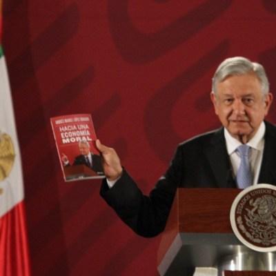 Revenden libro de AMLO en más de 300 pesos
