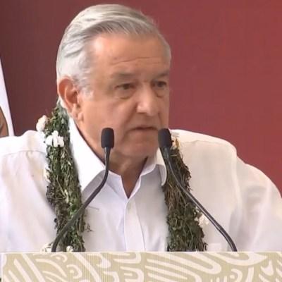 AMLO reitera que comunidades indígenas recibirán apoyo directo, sin intermediarios