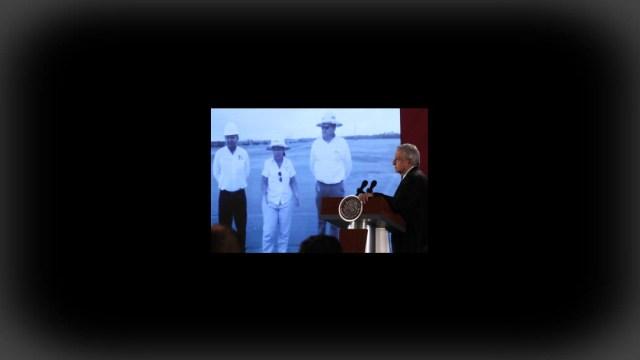 Foto: Santa Lucía avanza y en Dos Bocas no hubo inundación, afirma AMLO