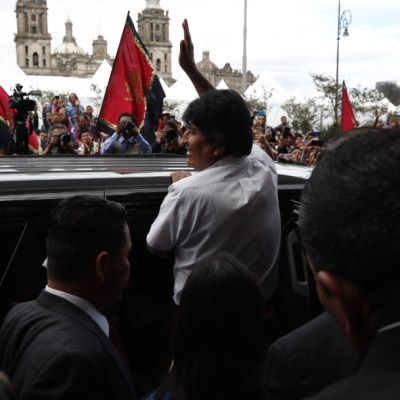 AMLO: Sedena cuida a Evo Morales, el Estado Mayor Presidencial ya no existe