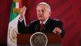 FOTO Consulta y luego licitación sobre Tren Maya, promete López Obrador (Cuartoscuro/Galo Cañas)