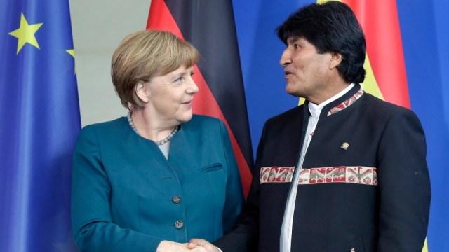 Sheinbaum: Merkel tiene 14 años en el poder y nadie dice nada, noviembre 2015