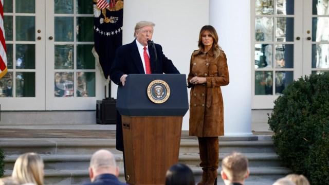 Imagen: Donald Trump, presidente de Estados Unidos, el 26 de noviembre de 2019 (AP)
