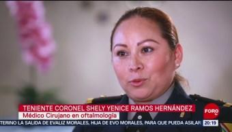 Ascenso Mujer Teniente Coronel México