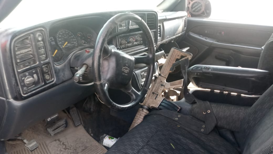 Foto: Las autoridades ya investigan si las camionetas y las armas fueron utilizadas en algún hecho delictivo, 12 de noviembre de 2019 (Noticieros Televisa)