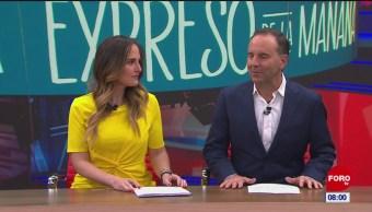 Así arranca Expreso de la Mañana con Esteban Arce del 5 de noviembre del 2019