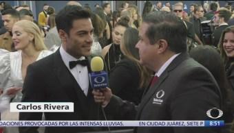 Foto: Así fue alfombra roja premios Latin Grammy