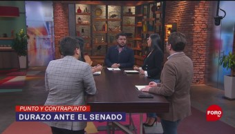 Foto: Alfonso Durazo Comparecencia Senado Caso Culiacán 6 Noviembre 2019