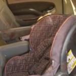 Foto: La bebé fue hallada en un asiento para niños, en el piso de la camioneta, el 6 de noviembre de 2019 (FOTOtv)