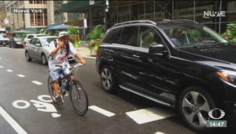 FOTO: Aumentan los accidentes de bicicletas en Nueva York, 15 noviembre 2019