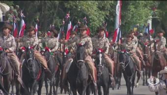 FOTO: Avanzan preparativos para el desfile del 109 aniversario de la Revolución Mexicana, 18 noviembre 2019
