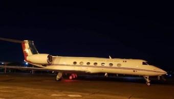 FOTO Avión de la FAM que transporta a Evo Morales despega de Paraguay. (Twitter)