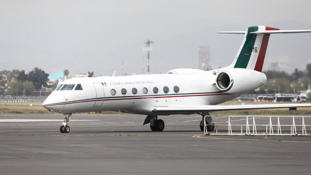 Foto: Este es el avión del gobierno de México a disposición del expresidente de Bolivia, Evo Morales, el 12 de noviembre de 2019 (Reuters)
