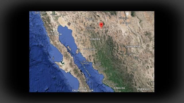 IMAGEN Reportan madrugada de balaceras en Agua Prieta, Sonora (Google Maps)