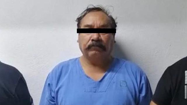 Foto: Detienen a médico del IMSS, presunto líder de banda de secuestradores, 27 de noviembre de 2019 (PGJ-CDMX)
