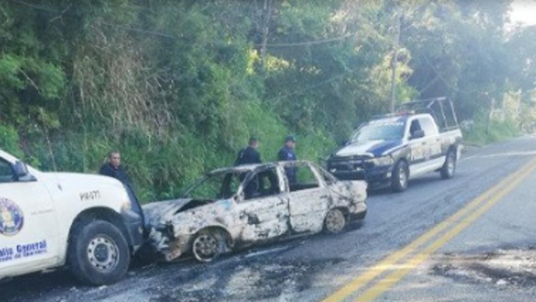 Foto: Después de las 11 de la mañana el tránsito se normalizó en Xaltianguis, 11 de noviembre de 2019 (Twitter @FGEGuerrero)
