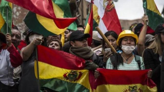 Foto: Este clima de inestabilidad que vive el país es debido a las protestas de grupos a favor y en contra de la reelección del presidente Evo Morales
