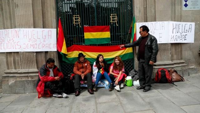 Foto: Se consumó golpe de Estado, dice embajador de Bolivia en México
