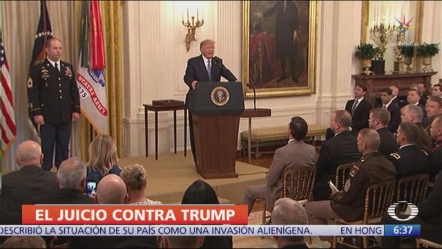 FOTO: Cámara de Representantes formaliza impeachment contra Trump, 1 noviembre 2019