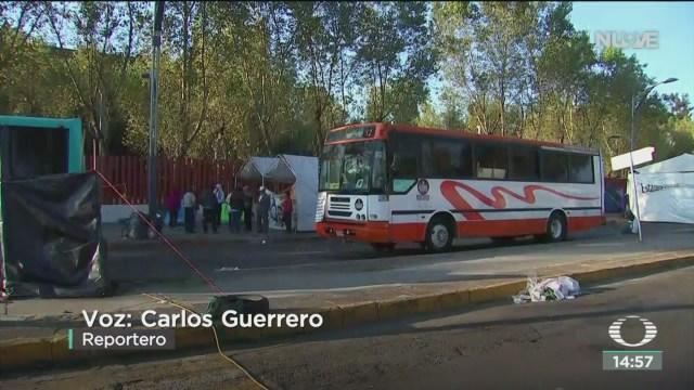 FOTO: Campesinos se retiran Cámara Diputados