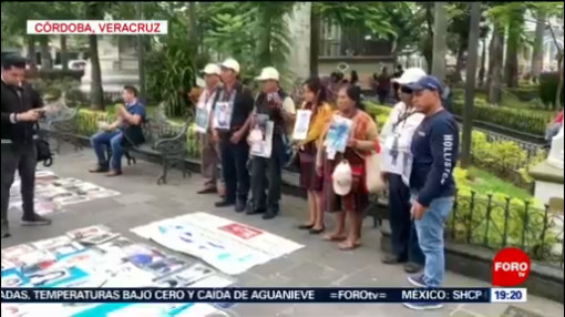Foto: Caravana Madres Migrantes Desaparecidos Córdoba Veracruz 22 Noviembre 2019