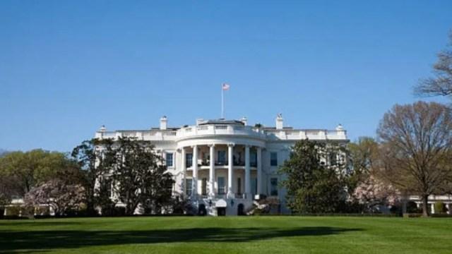 Foto: Vista general de la Casa Blanca, 3 noviembre 2019