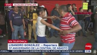 FOTO: Celebran con baile 37 años Central Abastos