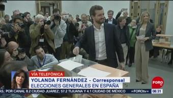 FOTO: Celebran elecciones generales en España, 10 noviembre 2019