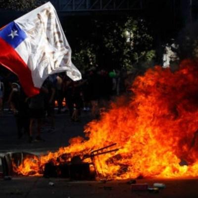 Reportan 175 denuncias por saqueos durante protestas en Chile