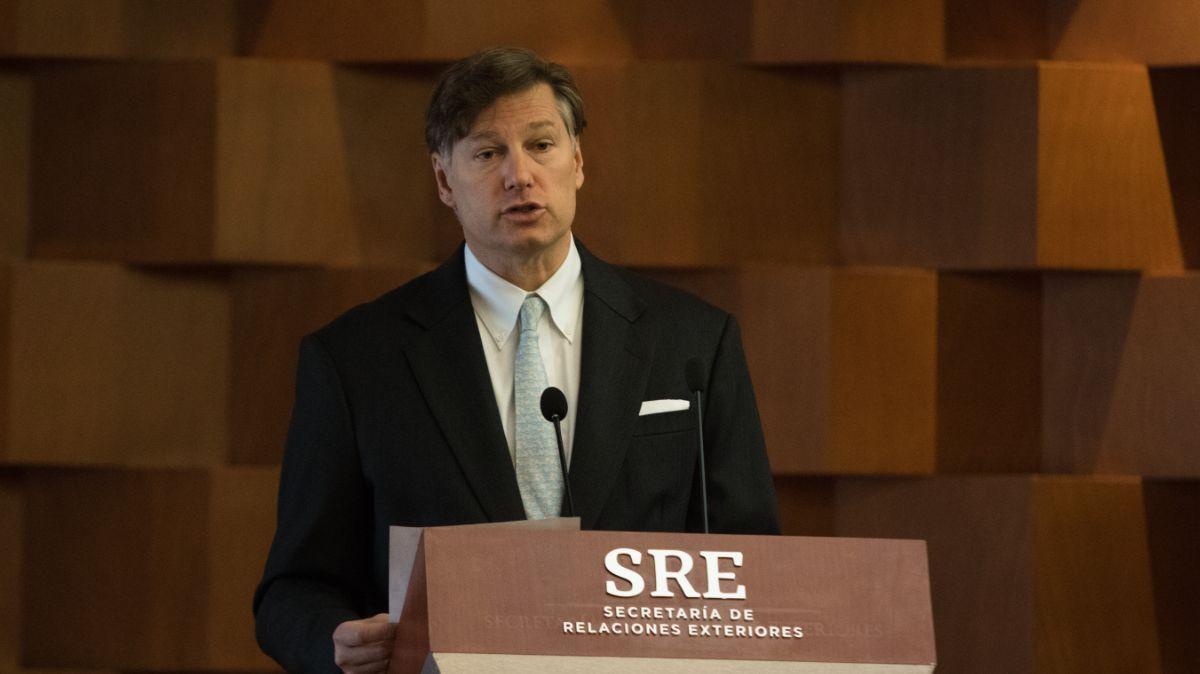 Christopher Landau, embajador de Estados Unidos en México.