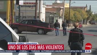 FOTO: Ciudad Juárez vive uno de los días más violentos, 15 noviembre 2019FOROtv
