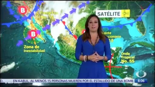 Clima Al Aire: Lloverá al norte de la República Mexicana