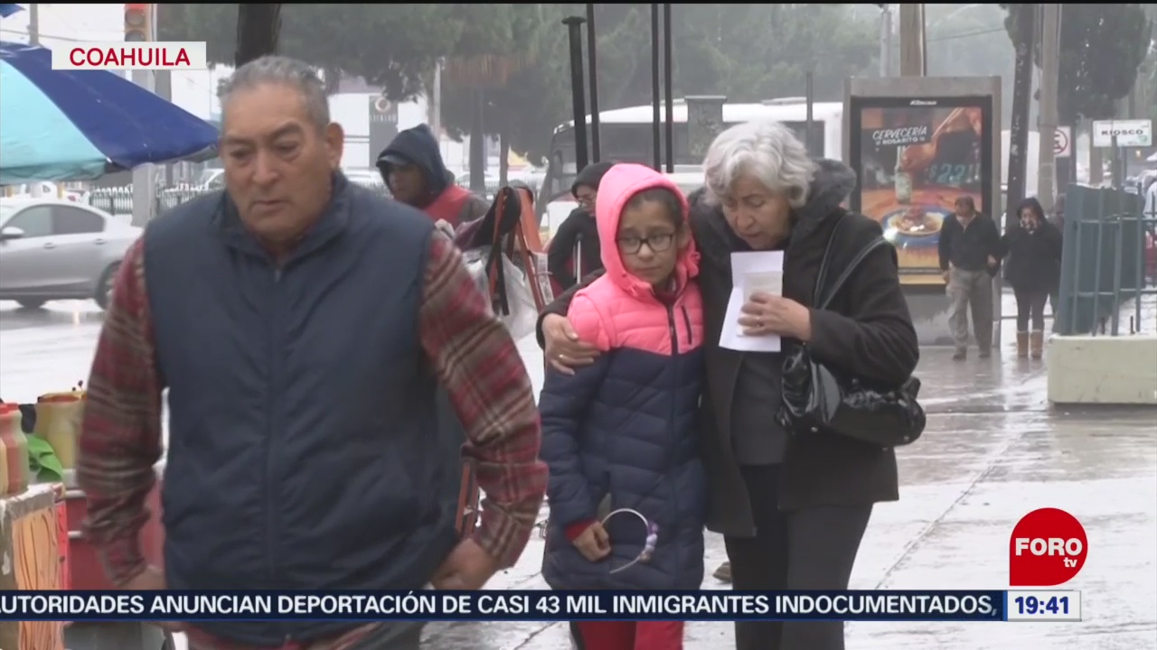 FOTO: Coahuila registra temperaturas congelantes, 15 noviembre 2019