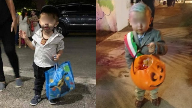 Niños disfrazados de Ovidio Guzmán y AMLO causan revuelo en redes sociales