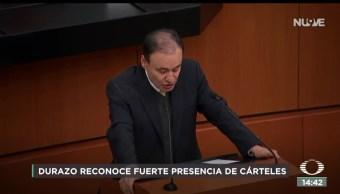 FOTO: Concluye comparecencia Durazo Senado