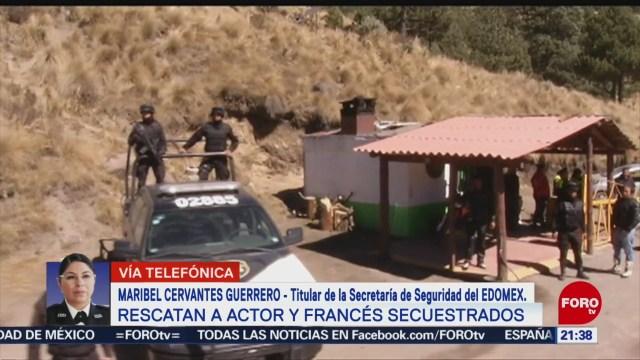 Foto: Rescate Turista Francés Secuestrado Nevado De Toluca 25 Noviembre 2019