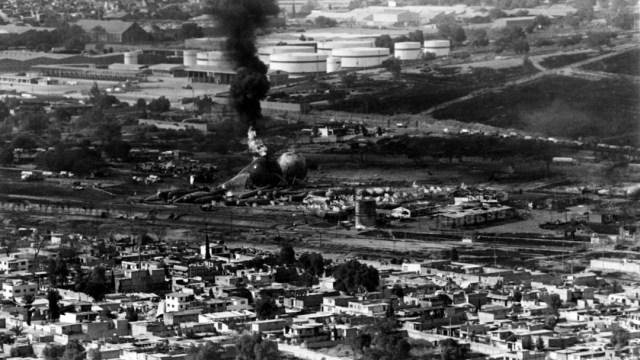 Foto: Conmemoran 35 aniversario de explosión en San Juanico