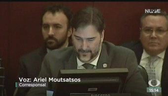 FOTO: Consejo Permanente OEA analiza situación Bolivia