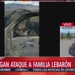 FOTO: Continúa investigación ejecución miembros familia LeBarón