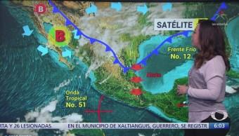 Continuará el descenso de la temperatura en la mayor parte de México