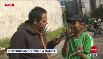 #CotorreandoconlaBanda: 'El Repor' suelto en Metro Insurgentes