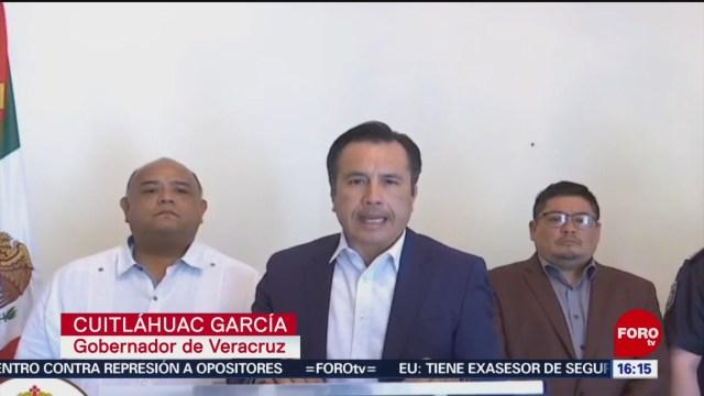 FOTO:Cuitláhuac García lamenta asesinato de alcalde, 9 noviembre 2019