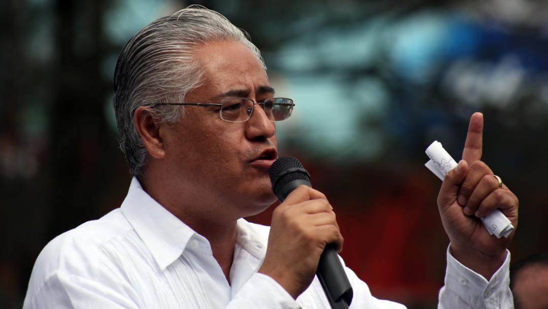 Alejandro Vera Jiménez, exrector de la UAEM. (MARGARITO PÉREZ RETANA /CUARTOSCURO, ARCHIVO)