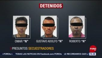 FOTO: Decretan legal detención de presuntos secuestradores de exrector de la UAEM, 19 noviembre 2019