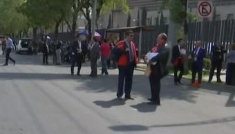 FOTO Desalojan Consejo de la Judicatura por presunto artefacto explosivo (FOROtv)