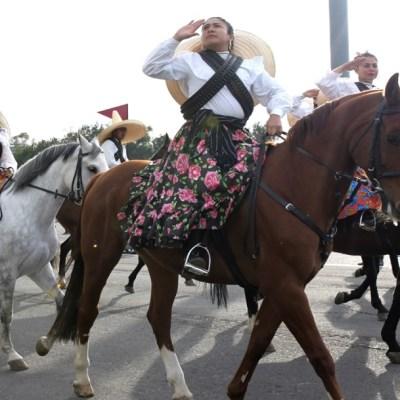 Revolución Mexicana: Sedena y Marina dan último pase de revista a la escenificación del 109 aniversario