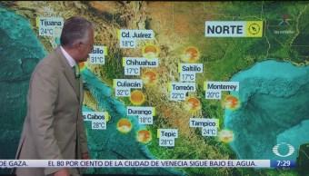 Despierta con Tiempo: Prevén lluvias fuertes en la Península de Yucatán