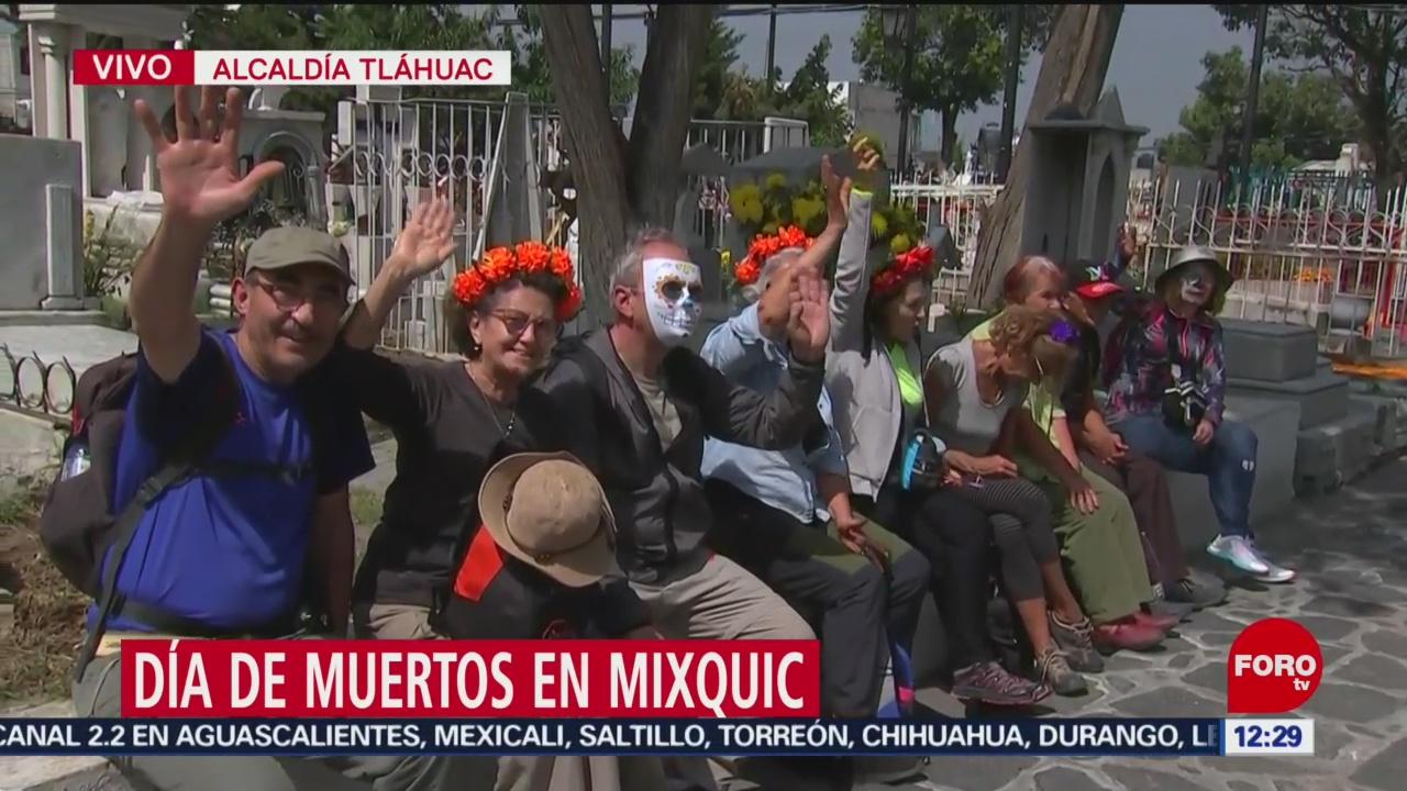 FOTO:Despierta la tradición de Dia de Muertos en San Andrés Mixquic, 1 noviembre 2019