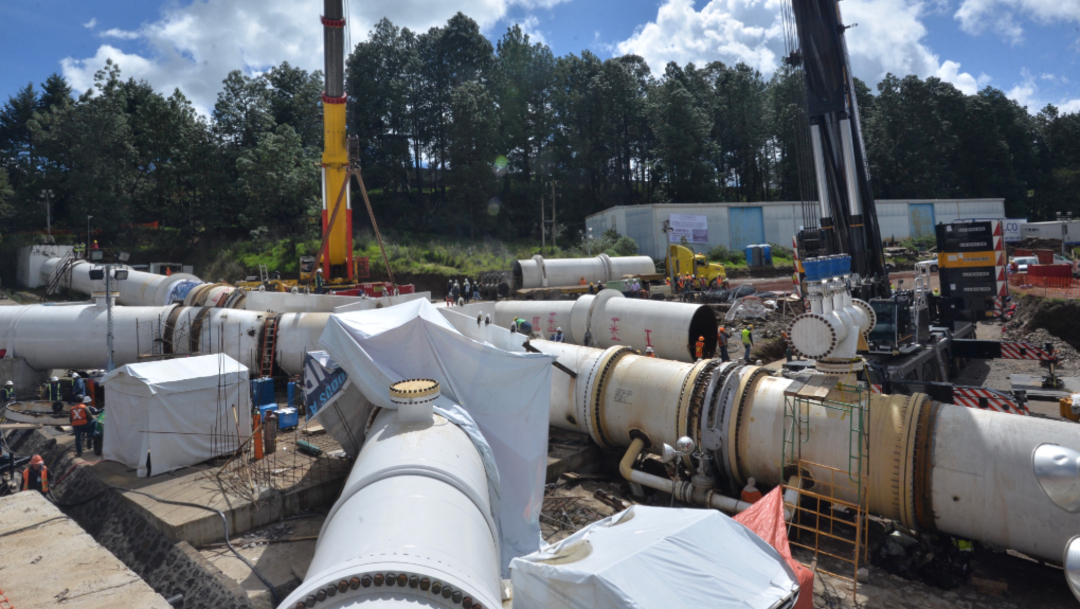 Foto: Se advirtió el fracaso en la sustitución de un tramo de tubería del Sistema Cutzamala como resultado de una deficiente planeación, 10 de noviembre de 2019 (Artemio Guerra Baz /Cuartoscuro.com)